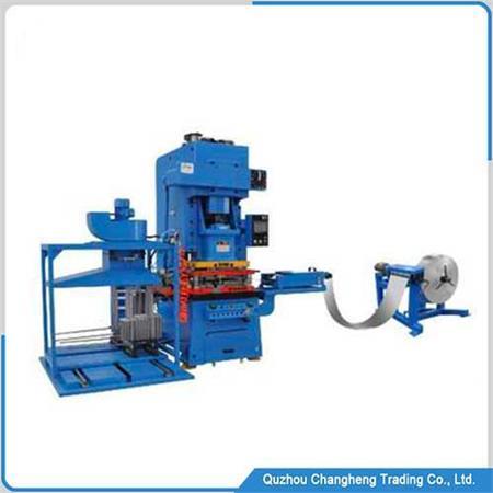 Heat exchanger punching fin machine