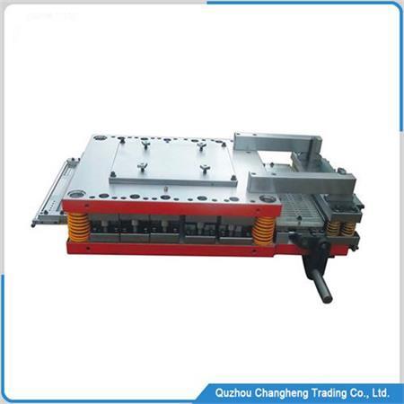 Progressive die for fin of heat exchanger