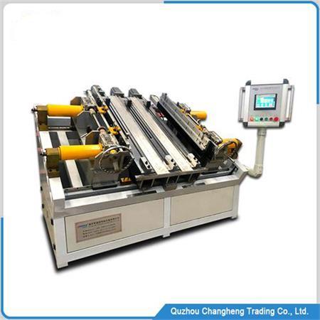 automatic intercooler core assembly machine
