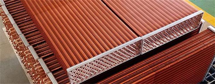 High efficiency finned tube heat exchanger